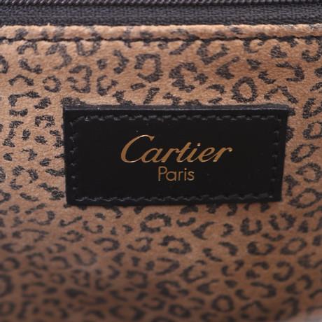 Cartier Handtasche in Schwarz Schwarz Verkauf Niedriger Preis Perfekte Online-Verkauf g9nT4g47