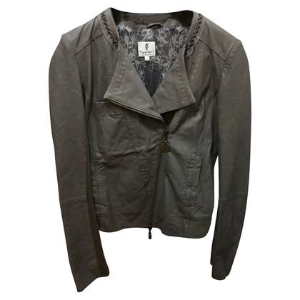Patrizia Pepe nappa leather jacket TG 42 en