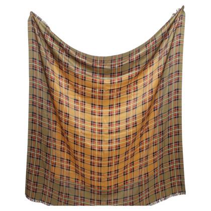 Yves Saint Laurent Zijden sjaal in Multicolor