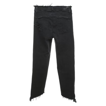 Paige Jeans Jeans in Schwarz