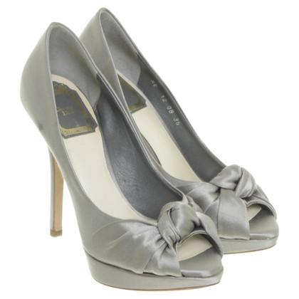Christian Dior Peep toe in raso