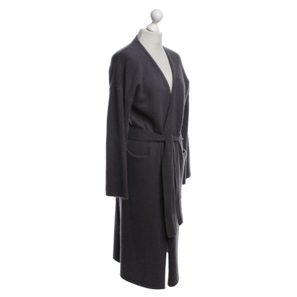 360 Sweater Cashmere jacket in grey