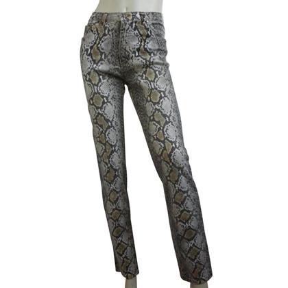Roberto Cavalli Jeans avec imprimé animal