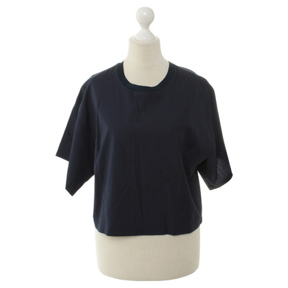 3.1 Phillip Lim Top corto in blu scuro