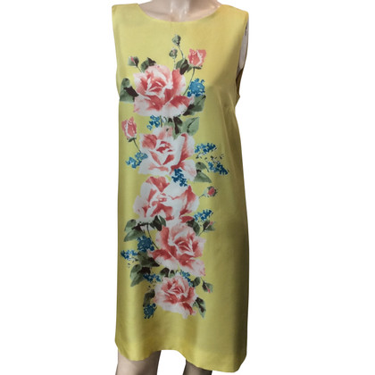 Red Valentino zijden jurk met bloemenprint
