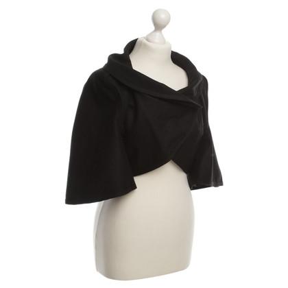 Nina Ricci Bolero di lana & cachemire nero