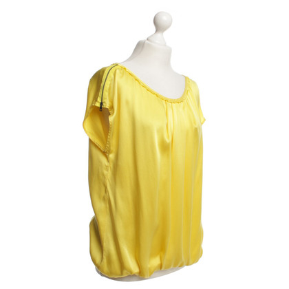 Marc Cain gele zijden hemd