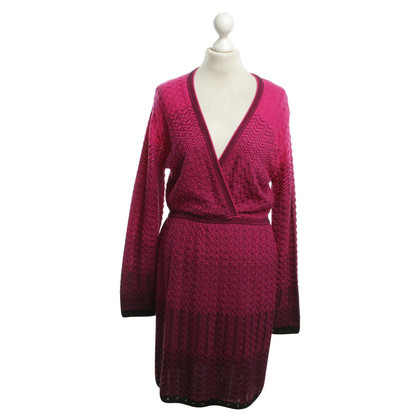 Missoni Knitted dress in pink