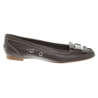 Christian Dior Slipper in dark brown