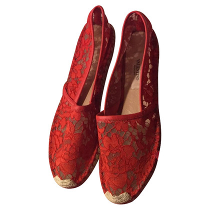 Valentino Espadrilles in red