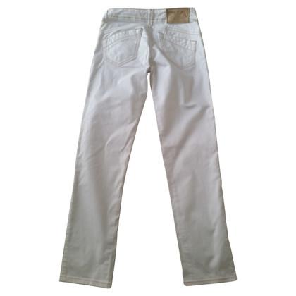 Armani Jeans in white cotton