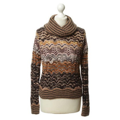 Missoni Turtleneck Sweater with pattern