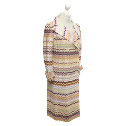 Missoni Coat with zigzag pattern