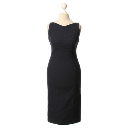Narciso Rodriguez Kleid in Dunkelblau
