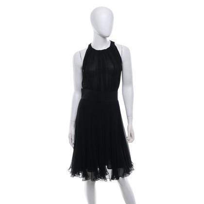 Max Mara zijden jurk in zwart