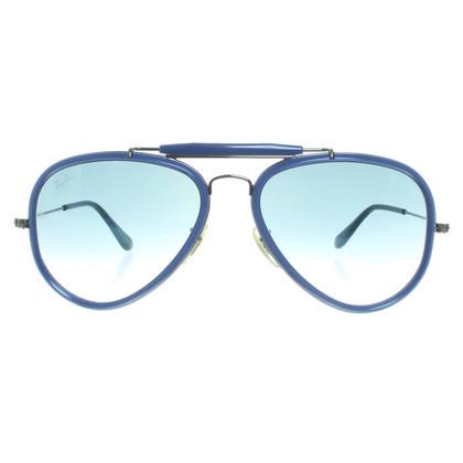 Ray Ban Blaue Pilotenbrille