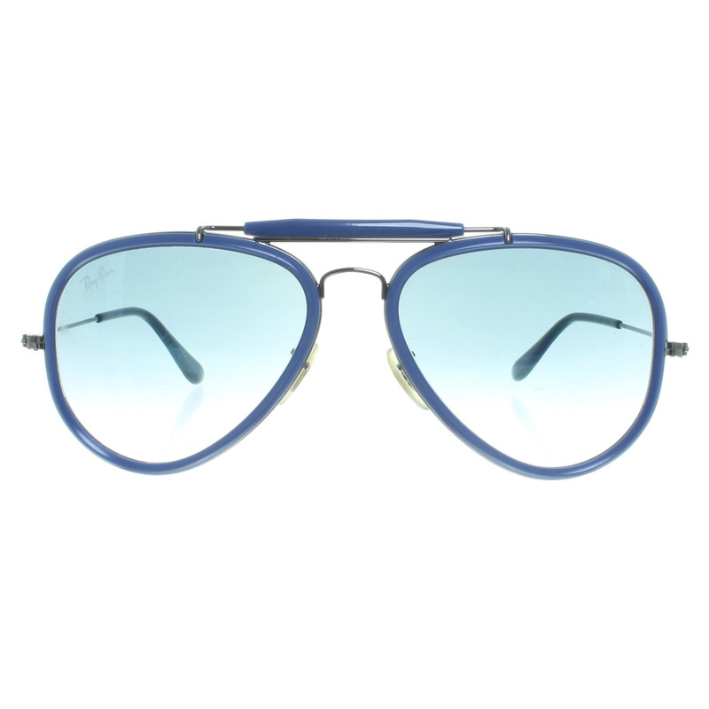 Ray ban occhiali da sole aviator blu compra ray ban - Occhiali ray ban aviator specchio ...