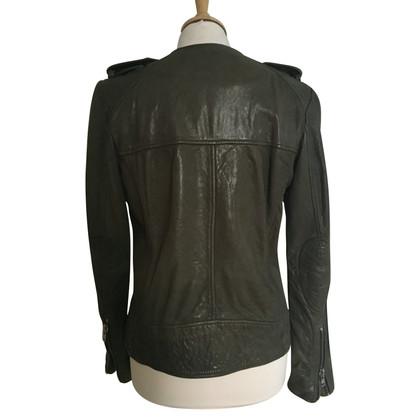 Isabel Marant Etoile giacca in pelle