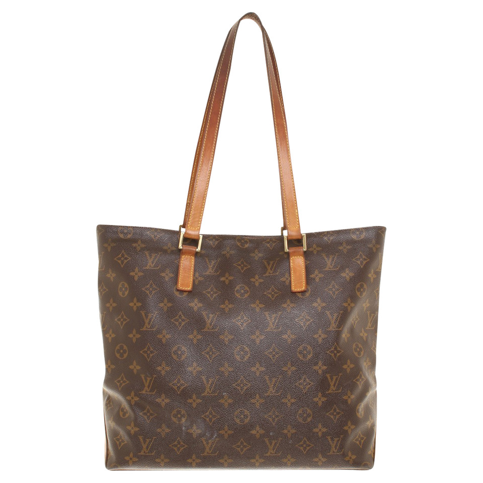 louis vuitton handtasche aus monogram canvas second hand. Black Bedroom Furniture Sets. Home Design Ideas