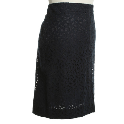 Marc Cain Lace skirt in blue