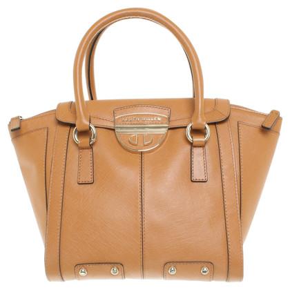 Karen Millen Cognacfarbene Handtasche