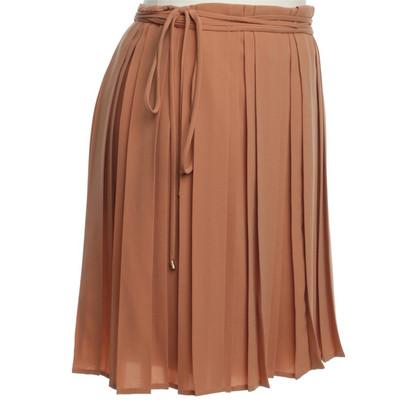 Diane von Furstenberg Wrap-around skirt with pleats