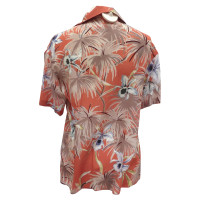 Valentino Hawaii silk blouse