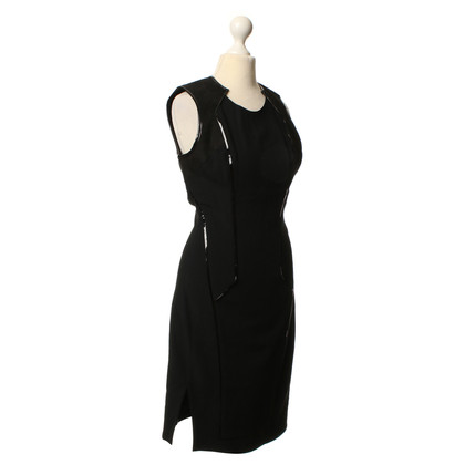 Helmut Lang Dress with leather inserts