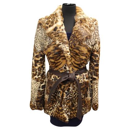 Dolce & Gabbana Giacca di pelliccia di coniglio