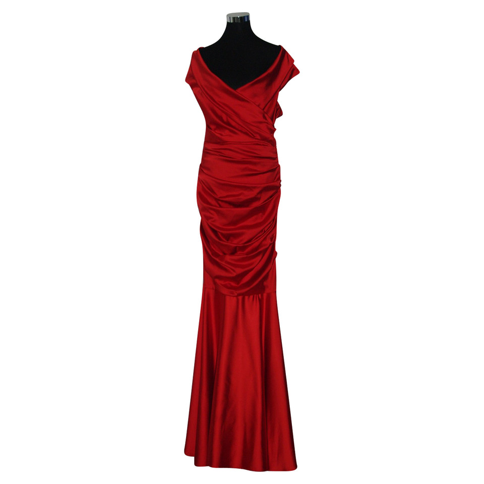 Talbot Runhof Evening dress with a small train - Buy Second hand ...