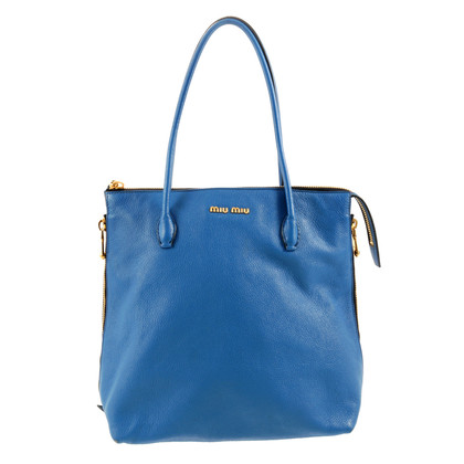 Miu Miu Tote Bag in Blau