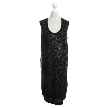 Luisa Cerano Lovertjekleding in zwart