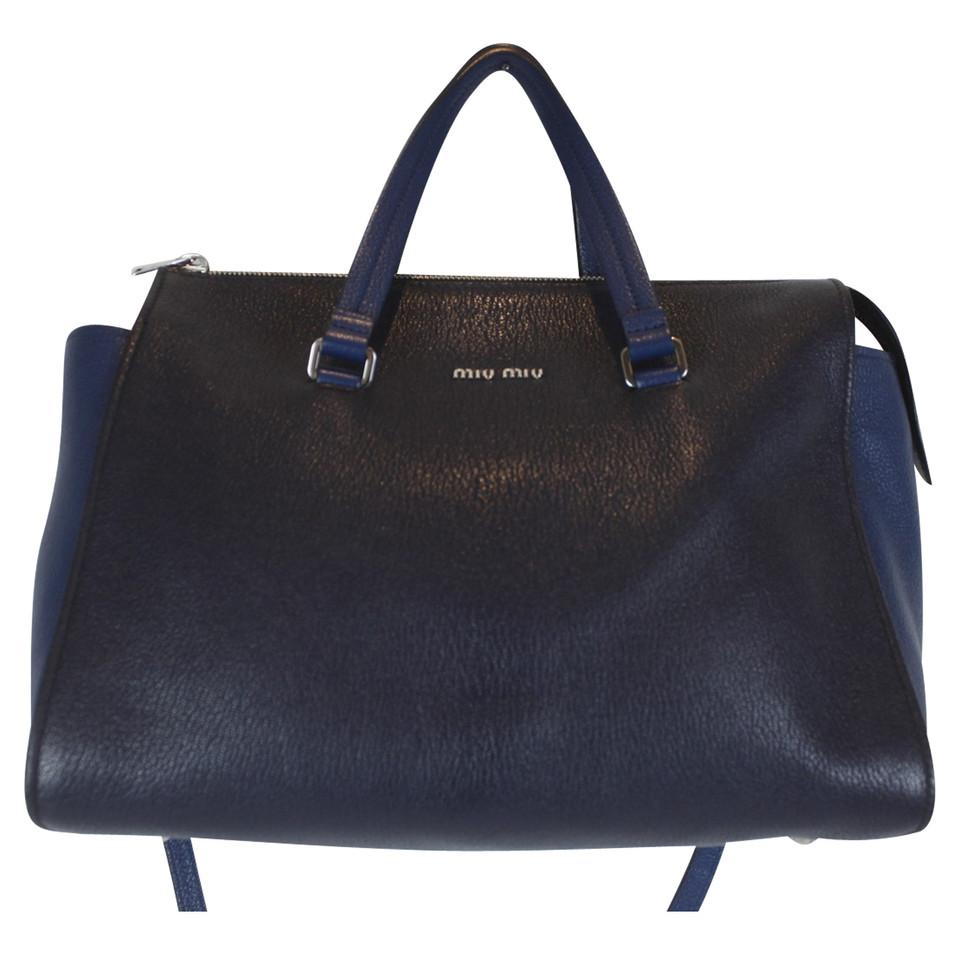 miu miu ledertasche second hand miu miu ledertasche gebraucht kaufen f r 950 00 2440616. Black Bedroom Furniture Sets. Home Design Ideas