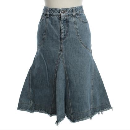 Alexander McQueen Jeans Rok in gebruikte zoeken
