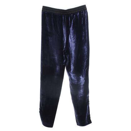Sandro pantaloni di velluto a Violet