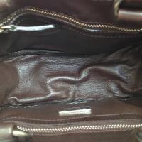 Prada Handtasche mit Ponyfellbesatz