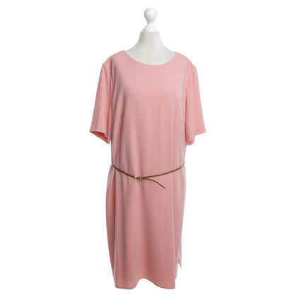 Hugo Boss Salmon colored dress with belt