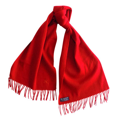 Burberry Cashmere foulard in rosso