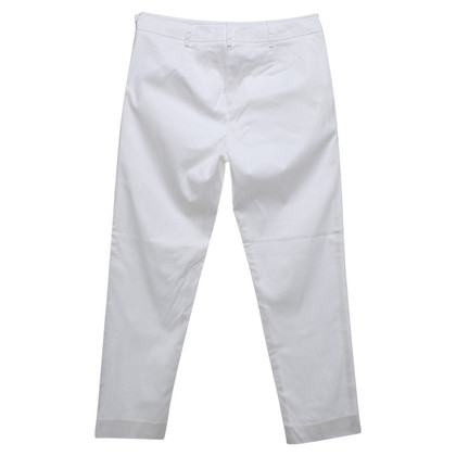 Blumarine 7 / 8-trousers in white