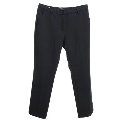 Max Mara trousers in dark blue