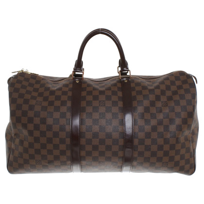 "Louis Vuitton ""Keepall 50 Damier Ebene Canvas"""