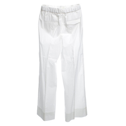 Schumacher Pant in white