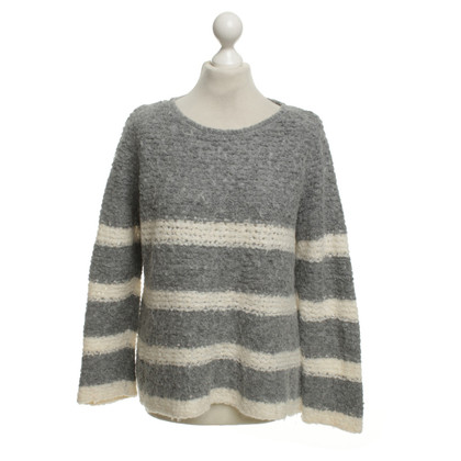 Marc Cain Knitted sweater with stripes