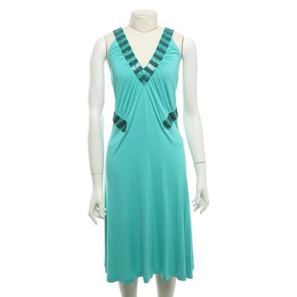 Escada Dress in turquoise green