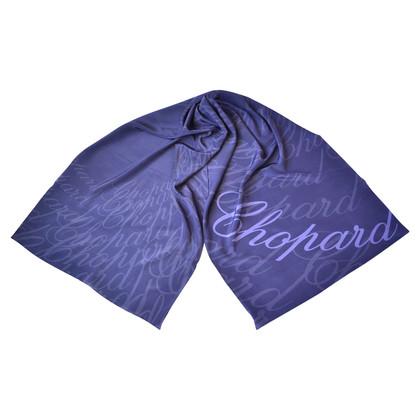 Chopard Foulard en soie avec motif