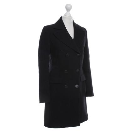 Karl Lagerfeld Corduroy coat in black