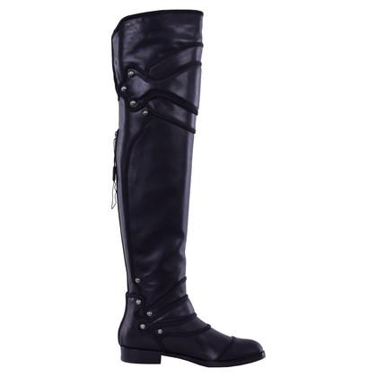 Dolce & Gabbana Flat overknee boots