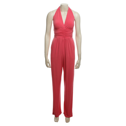 Hale Bob Jumpsuit in coral red