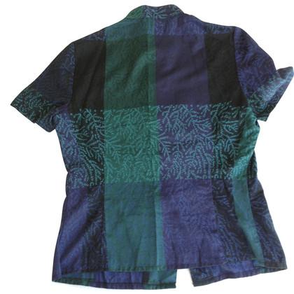 Kenzo camisa cuello mao