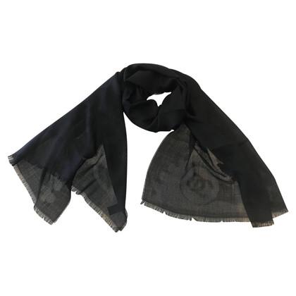 Chanel Schal in Schwarz